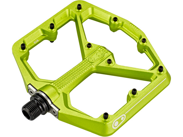 Crankbrothers Stamp 7 Large Pedale green